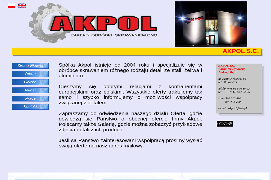 Akpol S.C. Kazimierz Bykowski Andrzej Mejza - Tokarz Rawicz