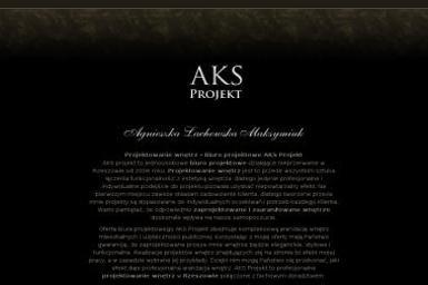AKS Agnieszka Lachowska Maksymiuk - Projekty Domów Chmielnik