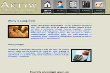 Biuro Rachunkowe Aktyw mgr Małgorzata Paś - Księgowy Wyględy