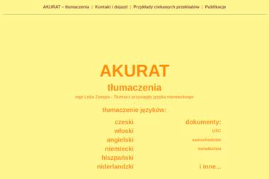 Akurat Lidia Zasępa - Tłumacze Kłodzko