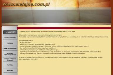 M2 Fototapety - Agencja Reklamy, Drukarnia UV - Druk wielkoformatowy Tarnów