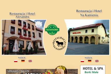 Restauracja i Hotel Alexandra Emilia Sklorz - Firma Gastronomiczna Olesno