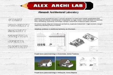 AlexArchiLab Architekt Aleksandr Jakovlev - Projekty domów Bielany Wrocławskie