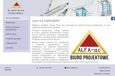 Alfa-ac Anna Chwiećko - Adaptowanie Projektu Białystok
