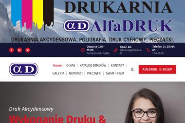 FPH Alfa Druk Sp. z o.o. - Drukarnia Sierpc