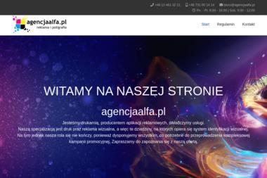 FHU Alfa S.C. Zacharczyk Teresa Zacharczyk Krzysztof - Poligrafia Ustrzyki Dolne