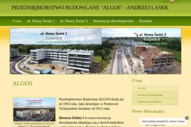PB Algos Andrzej Lasek - Murowanie ścian Piotrków Trybunalski