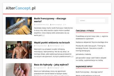 Alter Concept. Strony internetowe, projektowanie - Agencja interaktywna Lubań