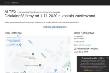 Altex. Henryk Teteruk - Strony internetowe Legnica