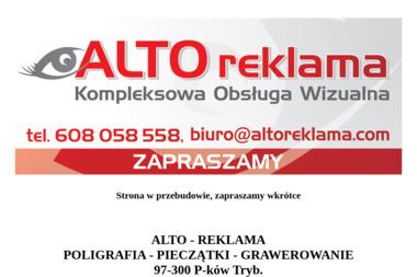 Alto Reklama - Firma Układająca Kostkę Brukową Piotrków Trybunalski