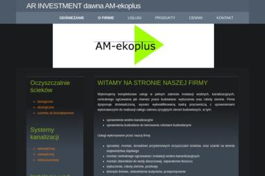 AM-ekoplus s.c. Oczyszczalnie przydomowe, oczyszczalnie ścieków śląsk - Hydraulik Bielsko-Biała