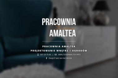 Amaltea. Pracownia Projektowa Alicja Łotysz-Pogorzelska - Projektowanie wnętrz Mrągowo