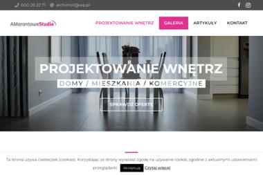 Amarantowe Studio - Projektowanie Wnętrz Białystok