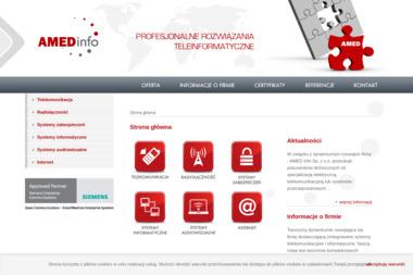 Amed Info Sp. z o.o. - Bramki Voip Morawica