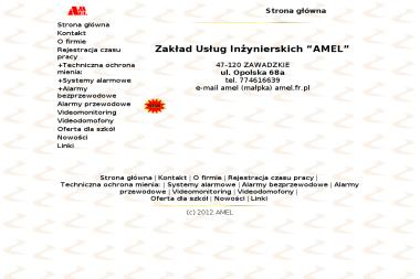 Zakład Usług Inżynierskich Amel S.C. - Ochrona Osób i Mienia Zawadzkie