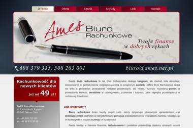 AMES Biuro Rachunkowe - Biuro rachunkowe Zielona Góra