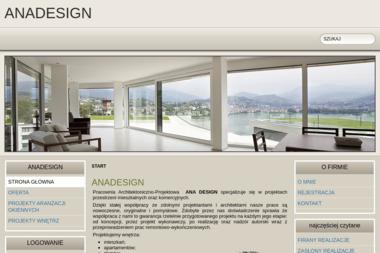 Ana Design Pracownia Architektoniczno-Projektowa. Architektura wnętrz, projektowanie wnętrz - Architekt wnętrz Częstochowa