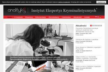 Instytut Ekspertyz Kryminalistycznych Analityks Sp. z o.o. - Detektyw Poznań