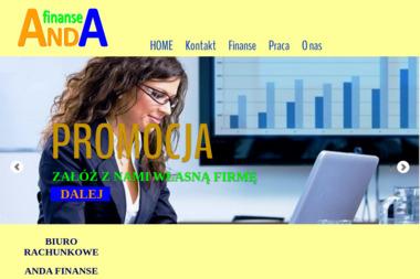 Anda Finanse Biuro Rachunkowe - Biuro rachunkowe Skierniewice