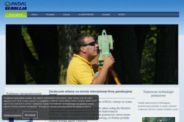 Andal Przedsiębiorstwo Geodezyjno-Kartograficzne - Geodezja Tarczyn