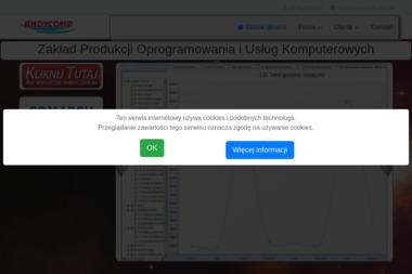 Zakład Produkcji Oprogramowania i Usług Komputerowych Andycomp Andrzej Ciesiński - Strony internetowe Wałcz