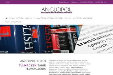 Anglopol. Biuro tłumaczeń, kursy angielskiego (Centrum Handlowe Nanice) - Tłumacze Wejherowo