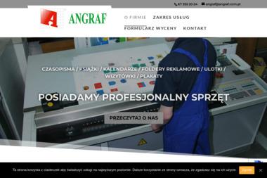Przedsiębiorstwo Poligraficzno-Wydawnicze Angraf - Usługi Poligraficzne Piła
