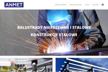ANMET - Balustrady nierdzewne Szczecin