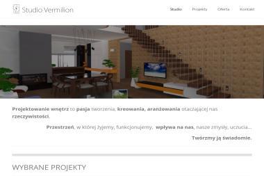 Studio Vermilion Anna Cisło - Architektura Wnętrz Jasionka