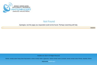 Antenki.com Montaż i serwis antent satelitarnych i naziemnych - Pozycjonowanie stron Zakroczym