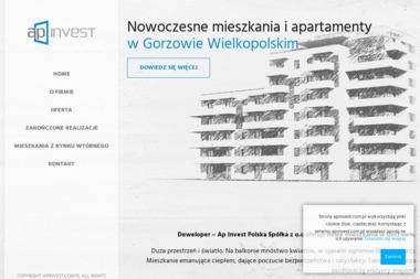 Ap-Invest - Domy pod klucz Gorzów Wielkopolski