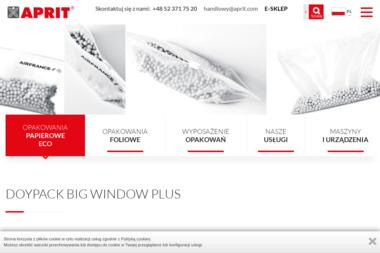 Aprit Justyna Lewandowska - Druk katalogów i folderów Bydgoszcz