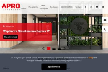 Apro Investment Sp z o.o. - Projekty Domów Parterowych Toruń