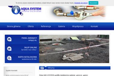 P w Aqua System Jarosław Figas - Hydraulik Wałbrzych