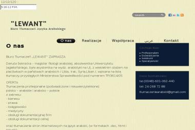 Biuro Tłumaczeń Lewant Język Arabski - Tłumaczenie Angielsko Polskie Płock