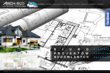 Arch Bud Projektowanie Architektoniczno Budowlane Daniel Kozłowski - Projekty Małych Domów Sokółka