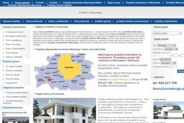 ArchDesign - Projekty domów Komorów