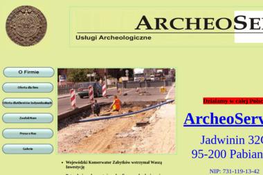 ArcheoService. Archeolog, nadzór arechologiczny - Geodeta Pabianice