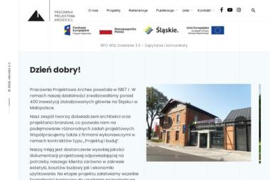 Pracownia Projektowa Archex S.C. Laskowska Łapa Anna Łapa Wojciech - Projekty Małych Domów Bielsko-Biała