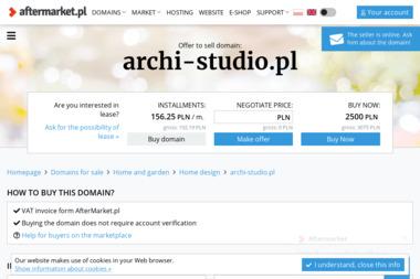 Pracownia Projektowa ARCHI-studio, arch. Joanna Rozmus - Masłowska - Firma Architektoniczna Olkusz