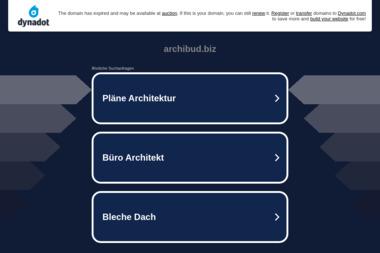 Archibud. Projekty budowlane, architekt - Projekty domów Mińsk Mazowiecki