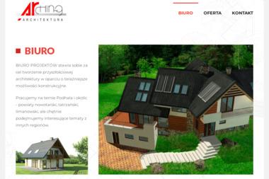 Arching Biuro Projektów. Architektura, biuro projektów, projekty domów - Projektowanie wnętrz Nowy Targ