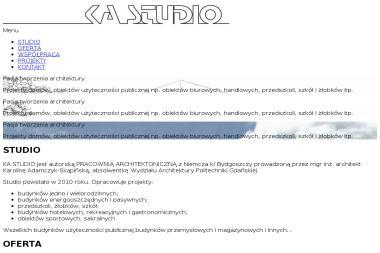 KA Studio. Architekt - Adaptacja projektów Dobrcz