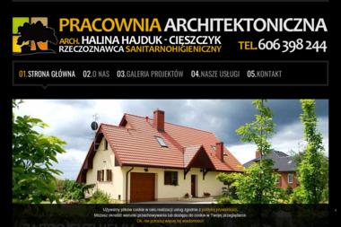 Pracownia Architektoniczna Halina Hajduk Cięszczyk - Projekty Domów Parterowych Kołobrzeg