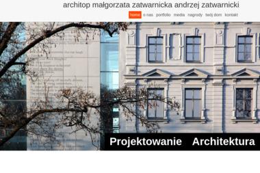 Architop Andrzej Zatwarnicki - Projekty Mieszkań Kępa