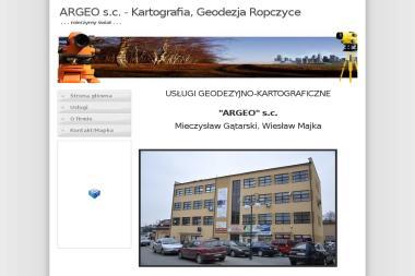 Usługi Geodezyjno Kartograficzne Argeo Mieczysław Gątarski Wiesław Majka - Geodeta Ropczyce