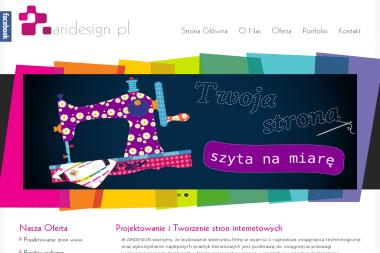 Aridesign Artur Lewandowski - Strony internetowe Płock