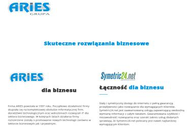 Przedsiębiorstwo Teleinformatyczne Aries - Strony WWW Trzebinia