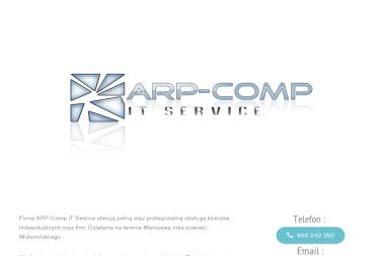 Arp-Comp IT Service - Agencja interaktywna Radzymin