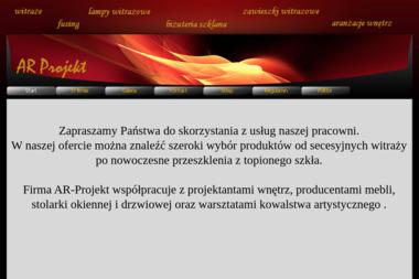 Ar-Projekt Robert Wiedrycki - Usługi Szklarskie Gdańsk